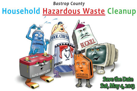 Bastrop County Household Hazardous Waste Cleanup